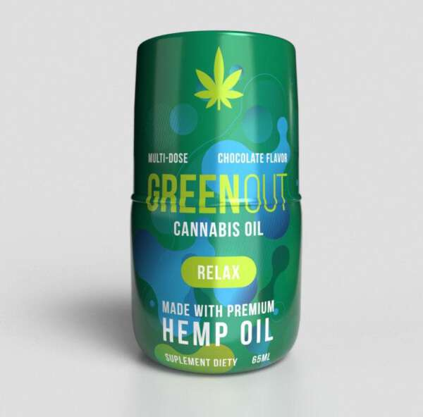 Olejek konopny Green Out Relax 150mg Dutch Therapy