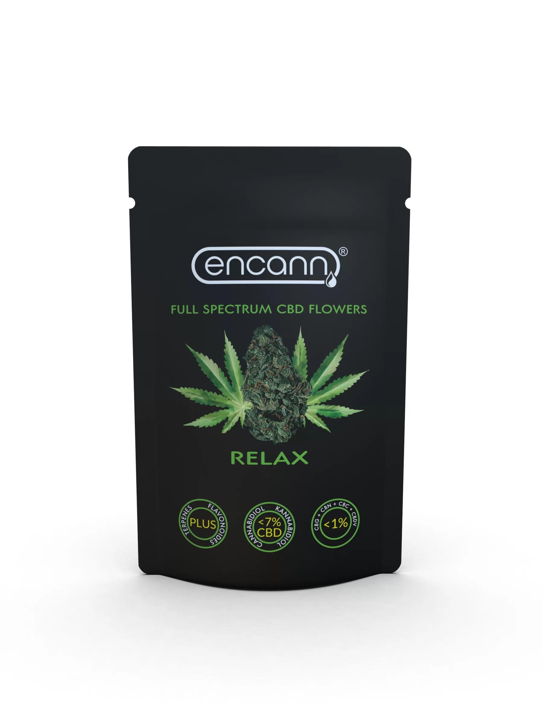 Susz konopny Relax ~7% CBD 1g Encann