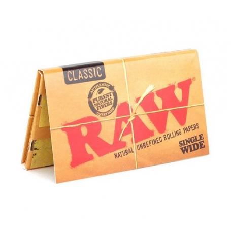 Bibułki Raw Classic Single Wide Double
