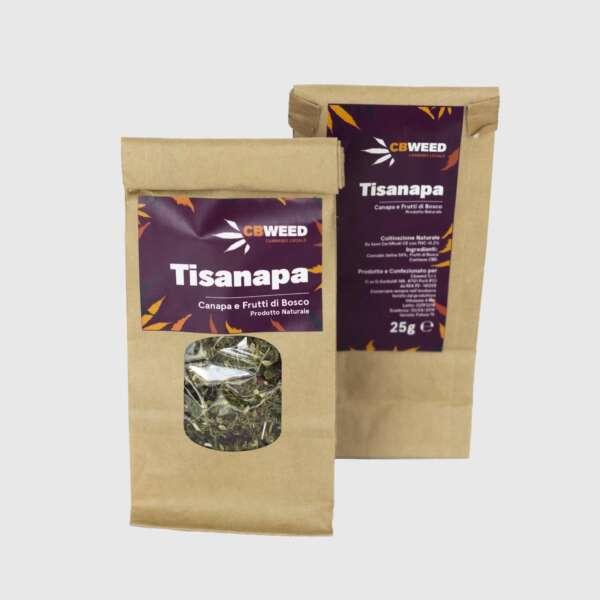 Tisanapa herbatka konopna z leśnymi owocami 25g
