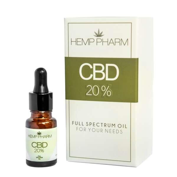 Olej Konopny 20% CBD Hemp Pharm