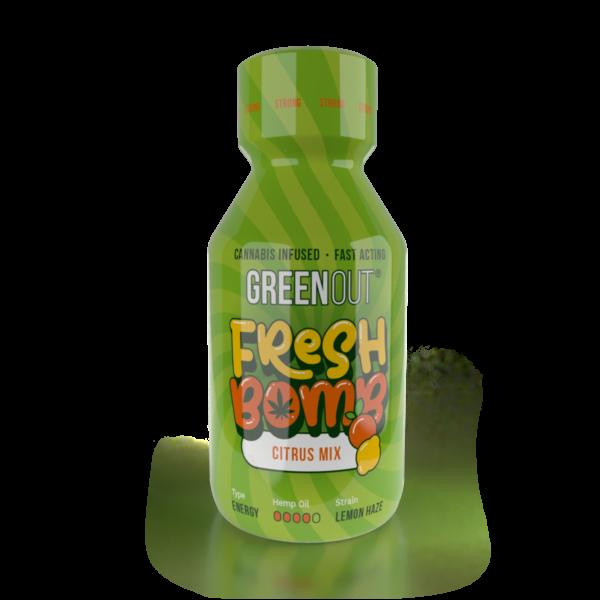 Olejek konopny Green Out Fresh Bomb Citrus Mix Strong