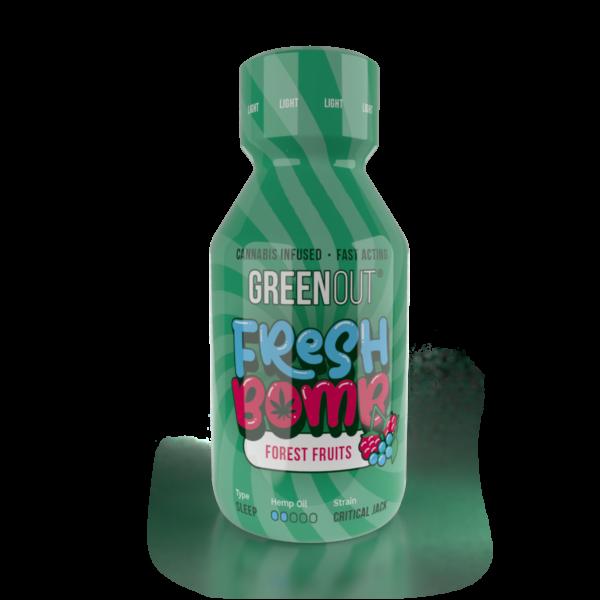 Olejek konopny Green Out Fresh Bomb Forest Fruits Light