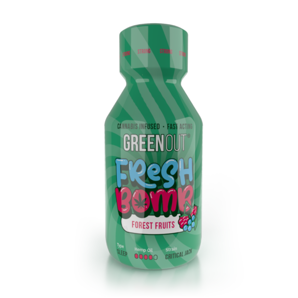 Olejek konopny Green Out Fresh Bomb Forest Fruits Strong