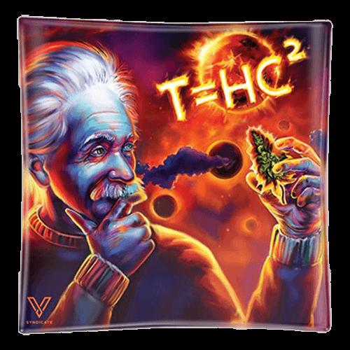 Popielniczka szklana Einstein T=HC2